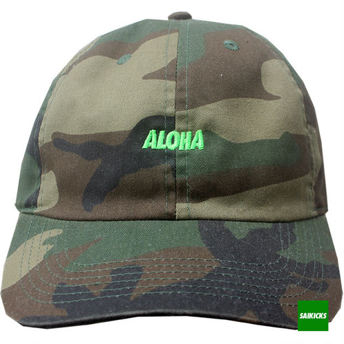 SAIKICKS ALOHA COTTON 6PANEL CAP