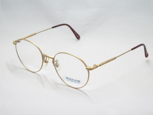 NICOLE CLUB【眼鏡(めがね)フレーム】42