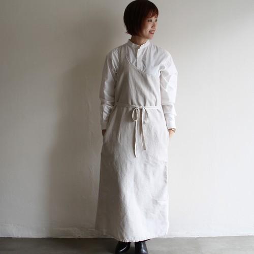 OUTIL【 womens 】robe ulm cotton hemp