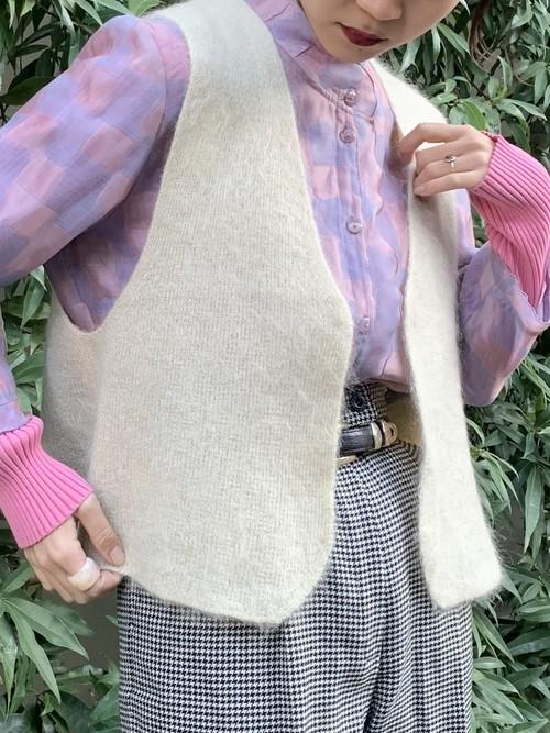 (TOYO) mohair vest