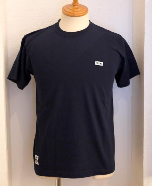 Back Print Booby Logo T-Shirts Navy