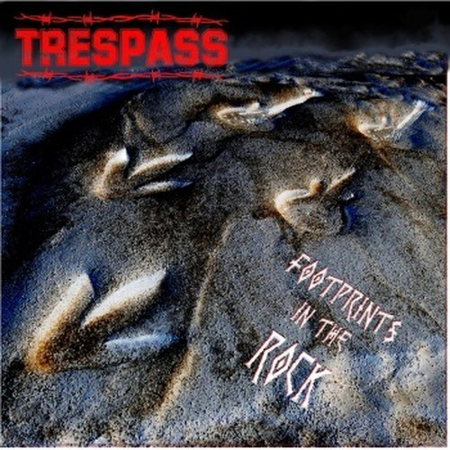 TRESPASS 『Footprints In The Rock』 日本盤仕様