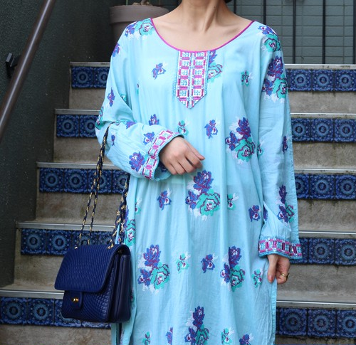 USA VINTAGE EMBRIODERY TUNIC/アメリカ古着刺繍チュニック