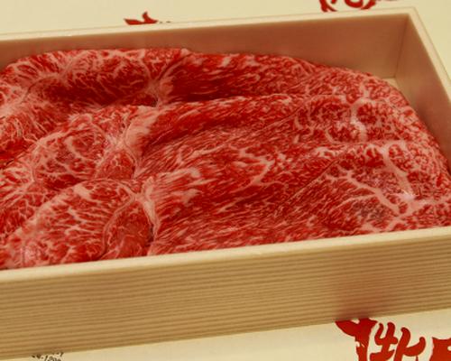 【すき焼き・しゃぶしゃぶ用】牛肩スライス 1000g