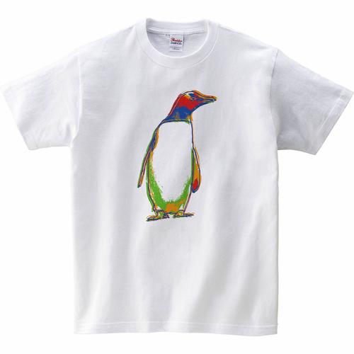 [キッズTシャツ] graphic penguin