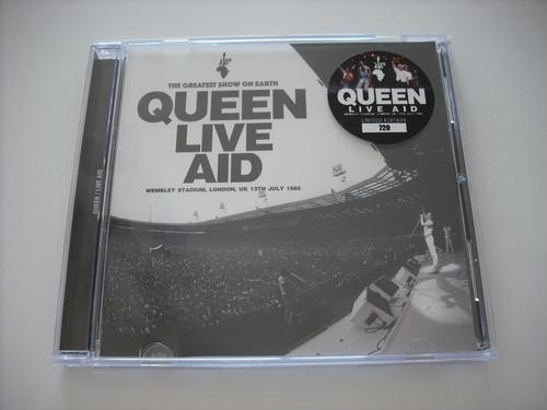 【CD+DVDR】QUEEN / LIVE AID