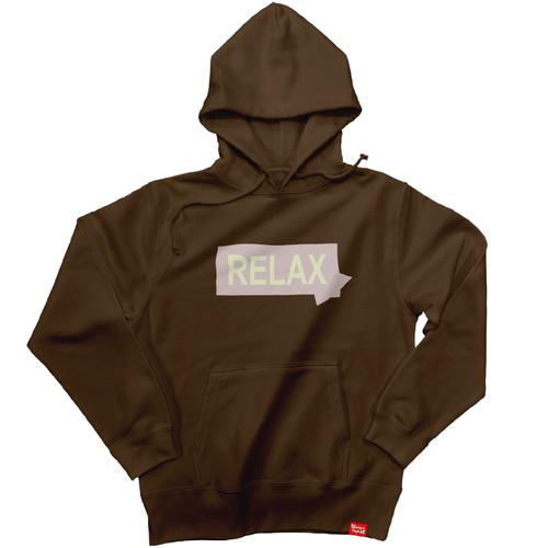 RELAX  スウェットパーカー