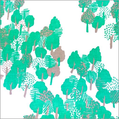 夏の木々 手ぬぐい
