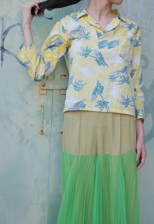 vintage/rurou blouse.
