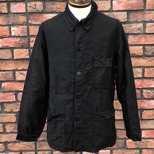 1960s French Work Jacket Mont-Rouge Black