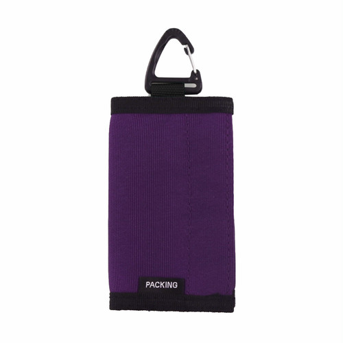 PACKING / COMPACT WALLET -PURPLE-