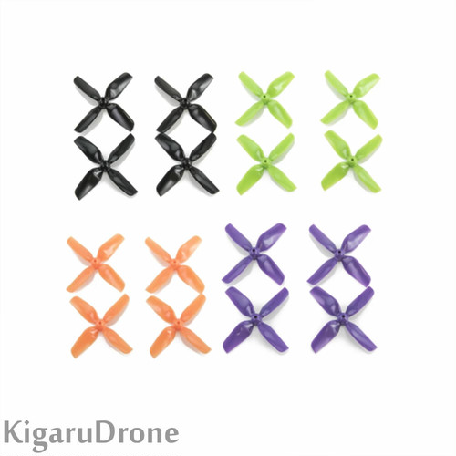 【31mm / 1.0mmShaft】HQ Micro Whoop Prop 31mm props  (2CW+2CCW)-ABS-1.0mm Shaft 4色