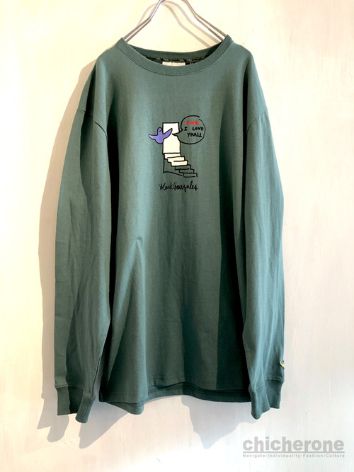 【MARK GONZALES】SLAMED THE DOOR EMERALD