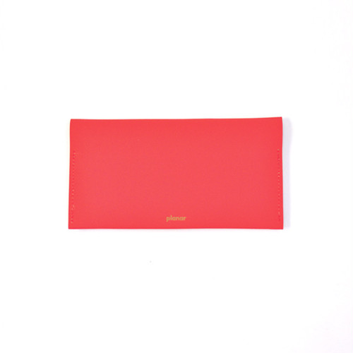 planar -Wallet L  Red Plain