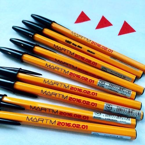 MARTM bic pen