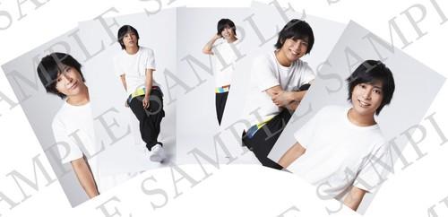 朗読劇『学園デスパネル』キャスト個人ブロマイド5枚セット    原野正章