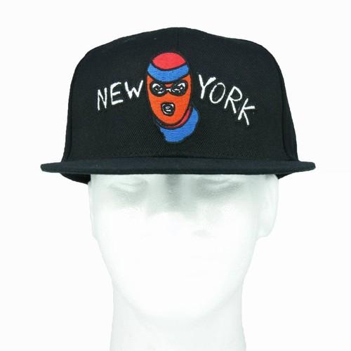 30%OFF ニューヨーク ラバー スナップバック ブラック:Haculla ハキュラ