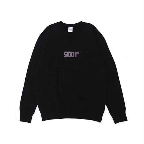 scar /////// SCARX CREW NECK SWEAT (Black)