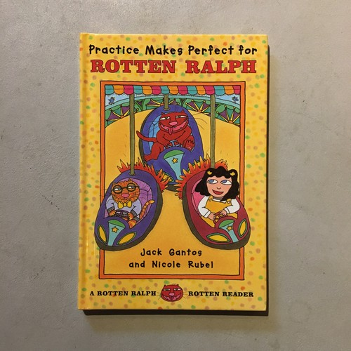 【新刊】Practice Makes Perfect for ROTTEN RALPH
