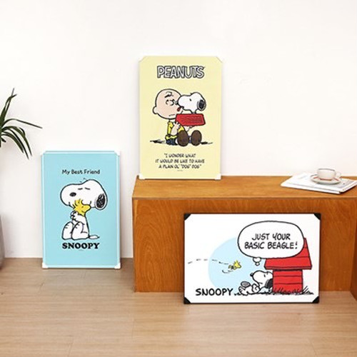 【韓国限定】snoopy holding table 3types / スヌーピー チャーリー 折り畳み テーブル トレー 公式 韓国雑貨