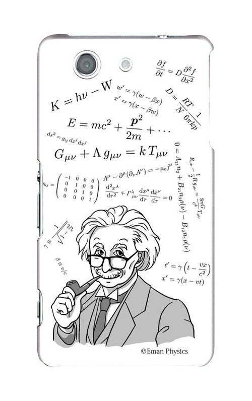 天才物理学者と数式 (Xperia Z3 Compact)