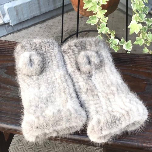 MINK Fur Arm Warmer <送料無料>