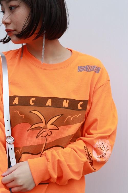 "TENUSIS "" VACANCE Long T-shirt""[M]"
