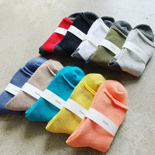 HIRAKU Combed yarn Socks -HRK-004-