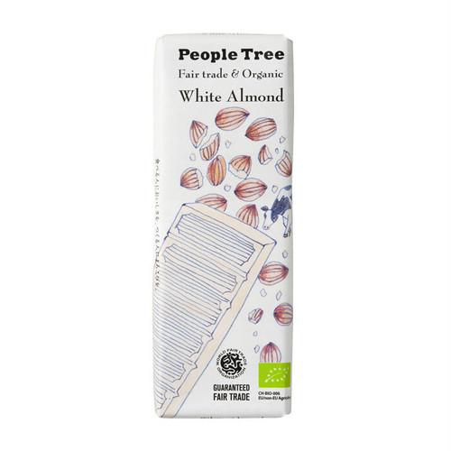 People Tree フェアトレードチョコ オーガニック ホワイトアーモンド ピープルツリー