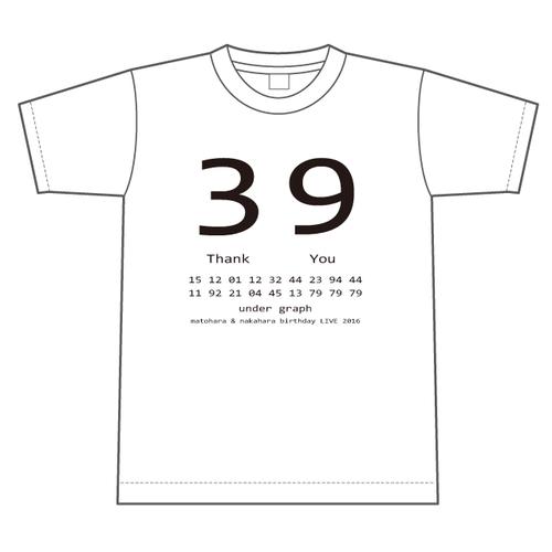 Tシャツ「合同バースデーライブ2016」