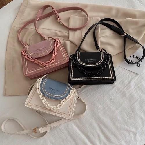 vintage chain bag 3color