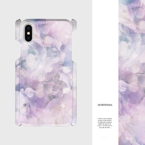 HORTENSIA (Purple) スマホケース
