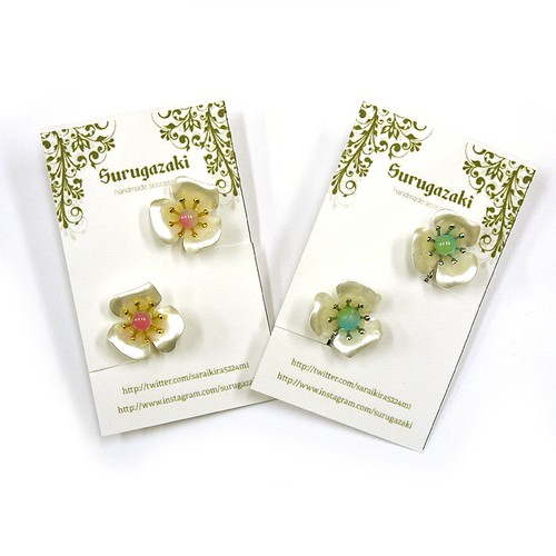 【Surugazaki】お花のイヤリング/イヤリング