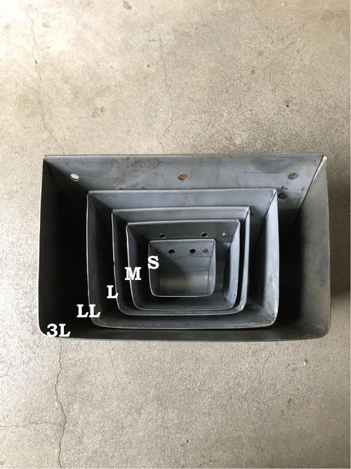 数量限定 TB-LL ツールボックス パーツボックス アイアン 小物収納 インダストリアル 海外製 / LLサイズ