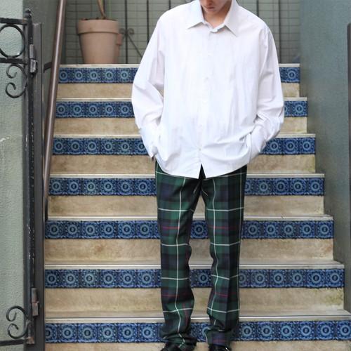 .BURBERRY LONDON ENGLAND CHECK PATTERNED PANTS MADE IN ITALY/バーバリーロンドンイングランドチェック柄パンツ2000000054445