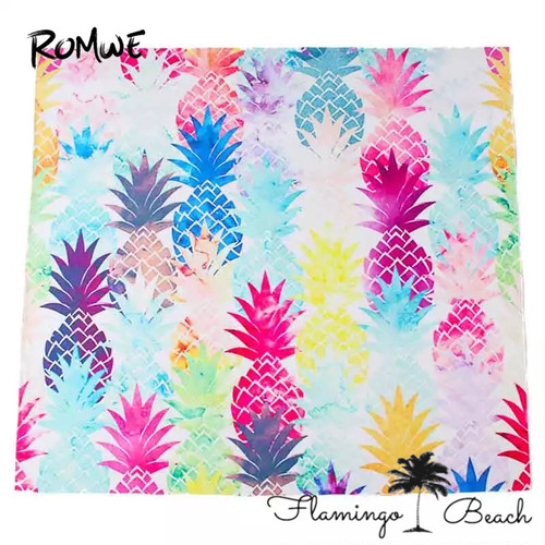【FlamingoBeach】pineapple beach mat