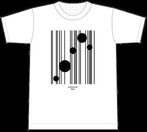 &PEACH Tシャツ