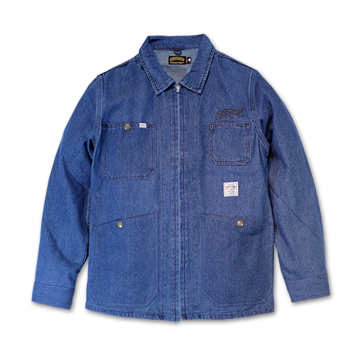 SEVENTY FOUR / WASHED DENIM COVER ALL JACKET