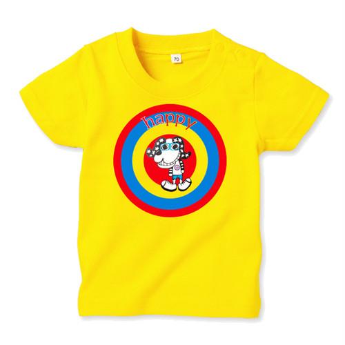 ◆キッズTシャツ 70.80.90サイズ対応◆ TARGET イエロー