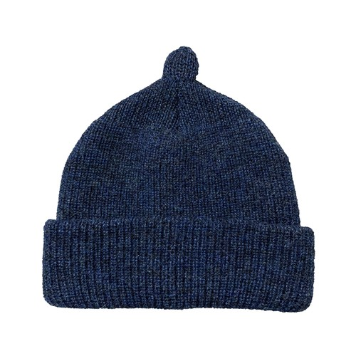 NOROLL / GERMINATE SOLID BEANIE -NAVY-
