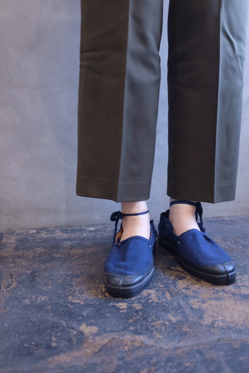 [VINTAGE] 1940s French navy espadrille dead stock size36/29