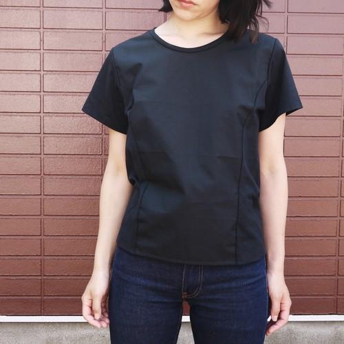 Shirts Fab. minimal cut&sew Black  ykcs-101