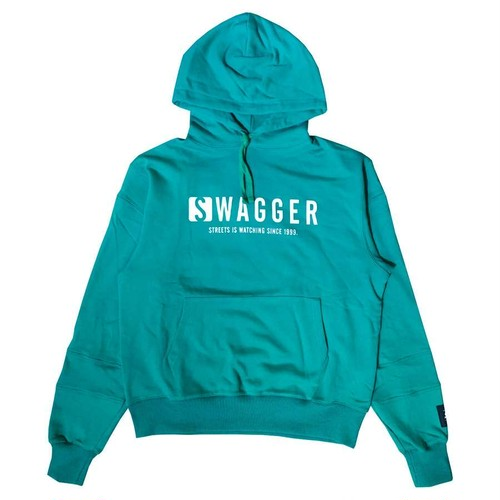 SWAGGER Logo Hoodie GREEN
