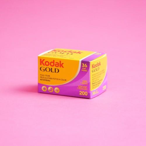 1本×36枚 ISO200 コダックゴールド カラーネガフィルム 135mm Kodak GOLD (カテゴリ: 現像 写真 プリント 焼付)