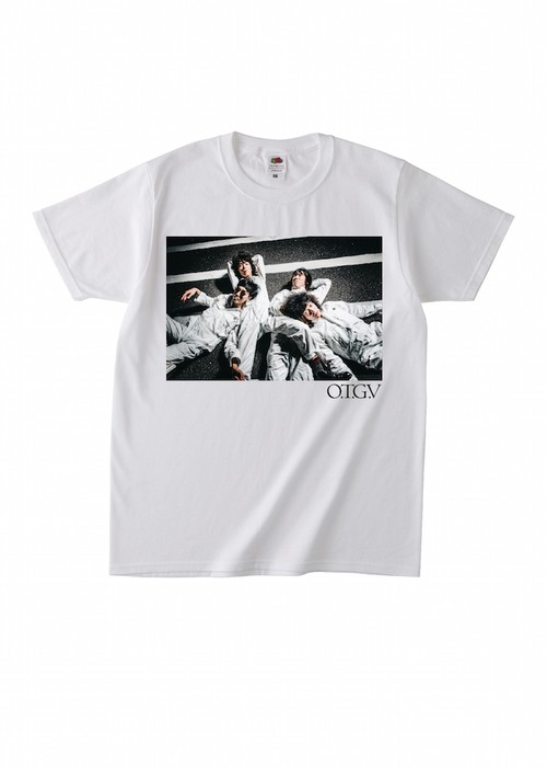 PHOTO T SHIRTS(2016FW)-WHITE-
