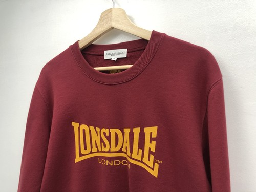 【ARCHIVE】【 LONSDALE × DUSTANDROCKS 】SWEAT SHIRT