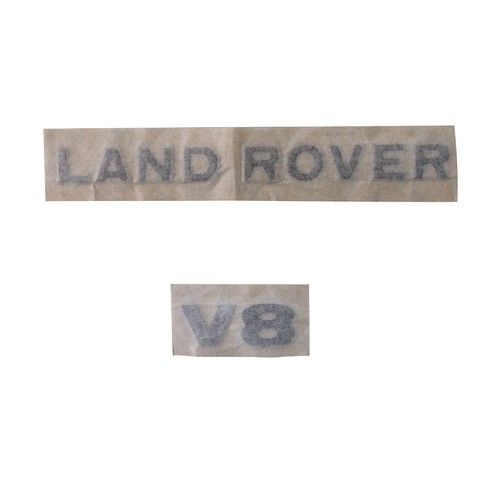 LAND ROVER デカールセット ( LAND ROVER & V8 )