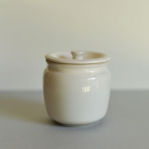 宮内窯 ふたつぼ白 商品番号:myf1