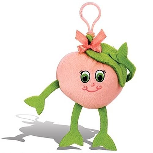 桃の香り【 WhifferSniffers 】エアーフレッシュナー 芳香剤  香る ぬいぐるみ アメリカンキャラクター キーホルダー