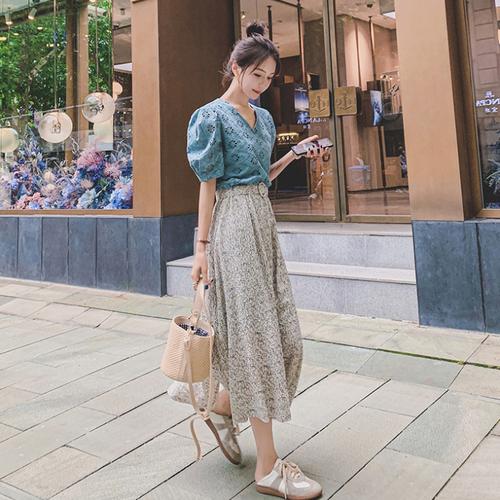 【dress】今季マストバイスウィート切り替えデートワンピース清新人気デザイン M-0455